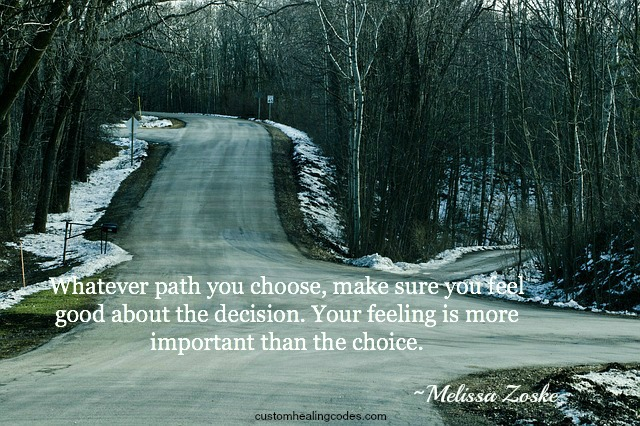Feel Good About Your Choices