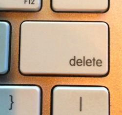 Don't You Wish Life Had A Delete Key?