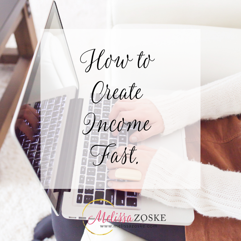 Reverse Work on Your Goals to Create Income Fast