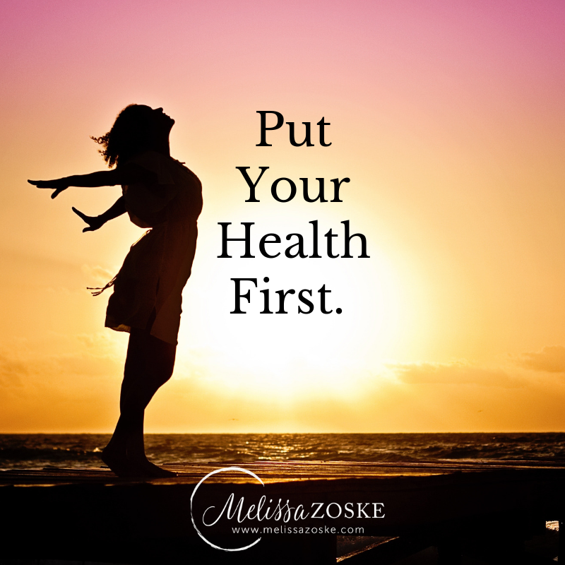 Choose Your Body First then Business.